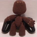 Amigurumi Sackboy from Little Big Planet - Back View