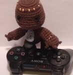 Amigurumi Sackboy from Little Big Planet - Using the Controller