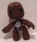 Amigurumi Sackboy from Little Big Planet - Front View