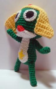 Keroro Guno - Sgt Frog Side Pose