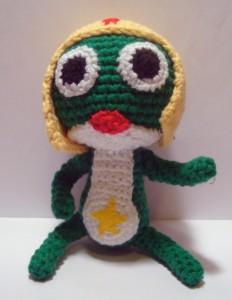 Keroro Gunso - Sgt Frog Sitting pose