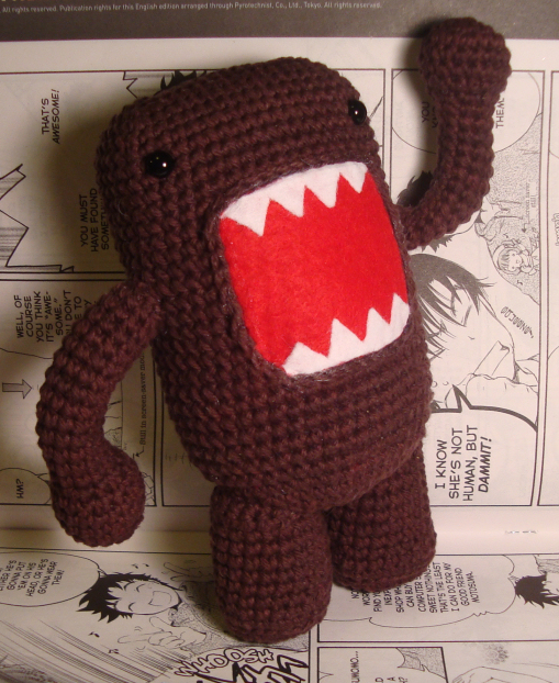 Domo Looks Menacing But Is Actually Very Polite And Shy