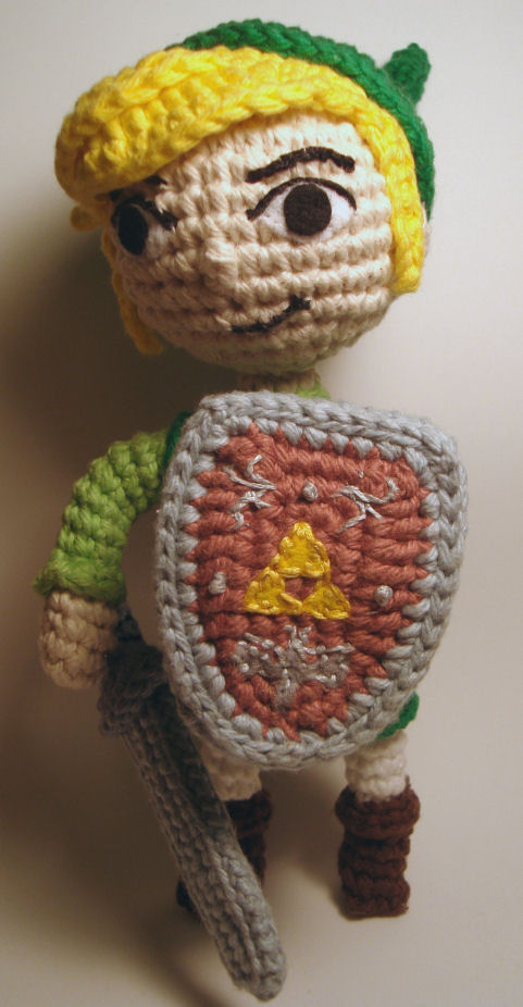 Link Crochet Pattern Zelda : Nerdigurumi - Free Amigurumi Crochet Patterns with love ...