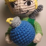 Legend of Zelda - Link and Bomb