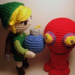 Legend of Zelda - Link and Red ChuChu