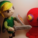 Legend of Zelda - Toon Link and Red Chuchu