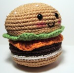 Amigurumi Crochet Hamburger