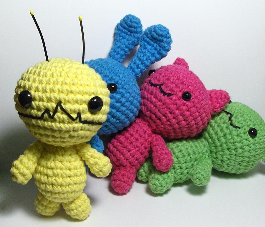 Amigurumi Kawaii Free Patterns : Nerdigurumi - Free Amigurumi Crochet Patterns with love ...