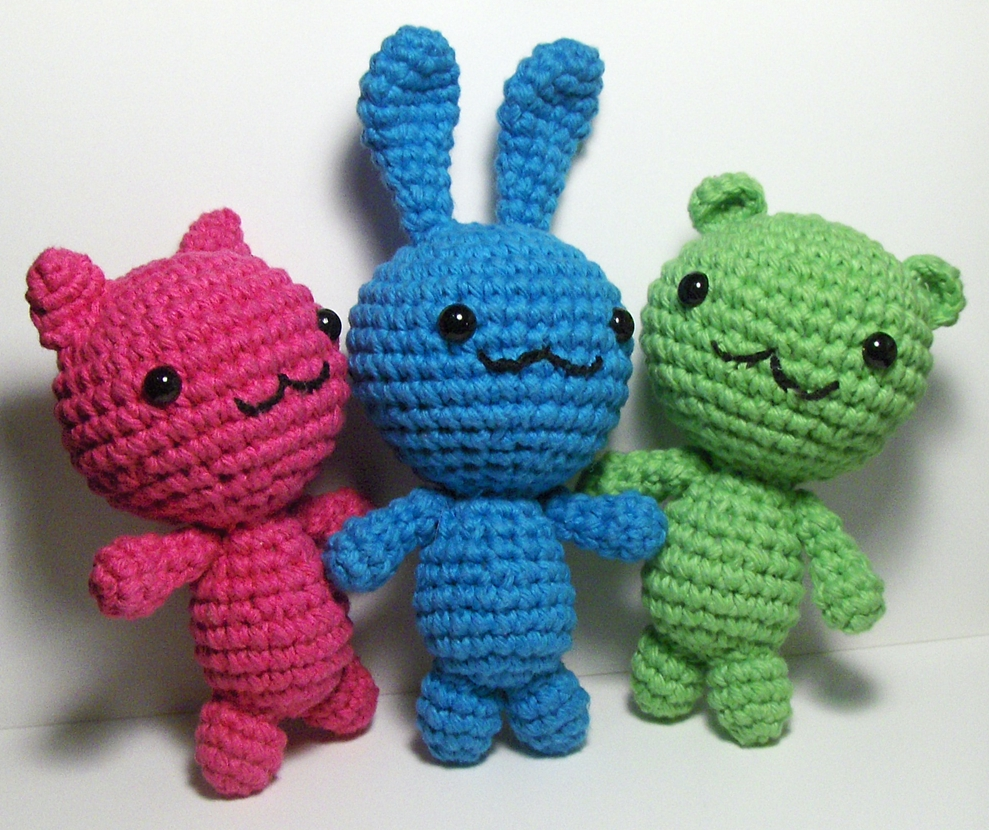 Amigurumi Animals For Beginners : Nerdigurumi - Free Amigurumi Crochet Patterns with love ...