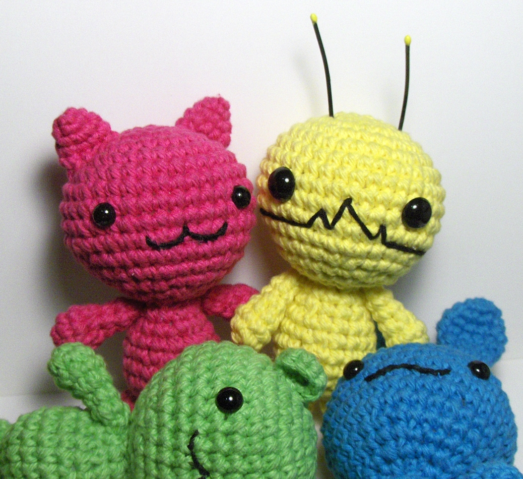 Amigurumi Alien : Nerdigurumi - Free Amigurumi Crochet Patterns with love ...