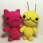 Amigurumi Kitty and Alien Hominid