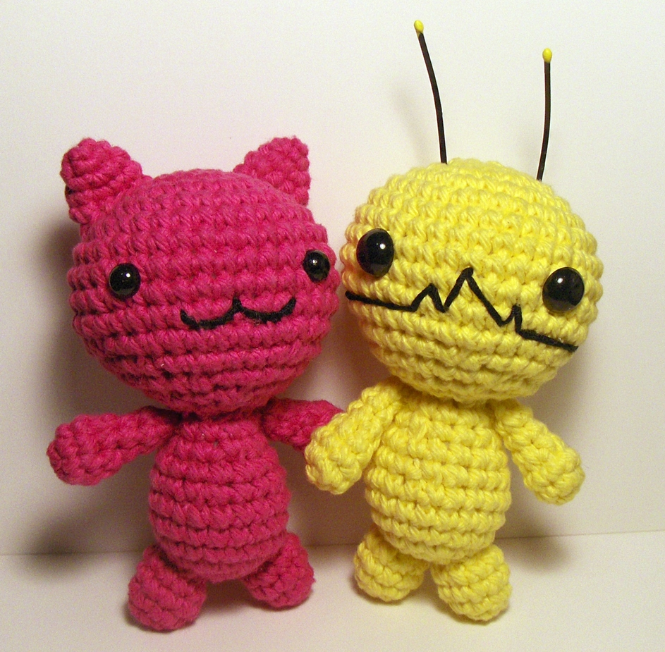 Amigurumi Chibi Doll Pattern Free : Nerdigurumi free amigurumi crochet patterns with love