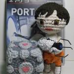 Portal 2 Amigurumi Playset