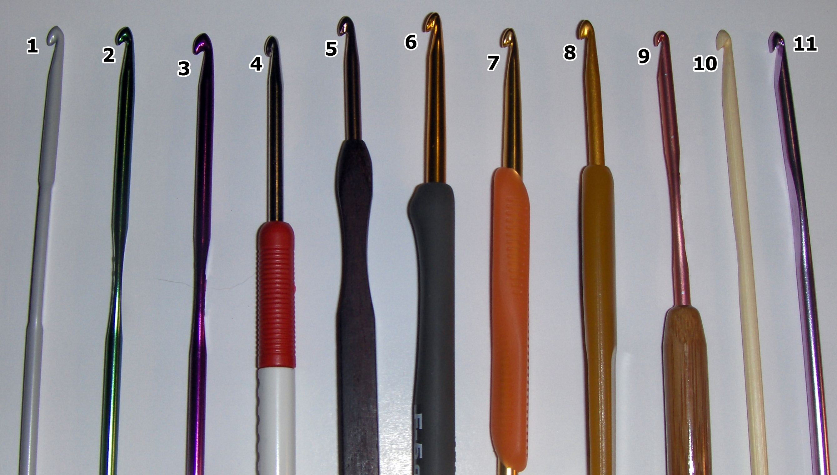 Crochet I Hook : ... ????????? Guide To Crochet Hooks_??_????