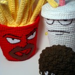 Aqua Teen Hunger Force (Aqua Unit Patrol Squad 1) Amigurumi Pattern