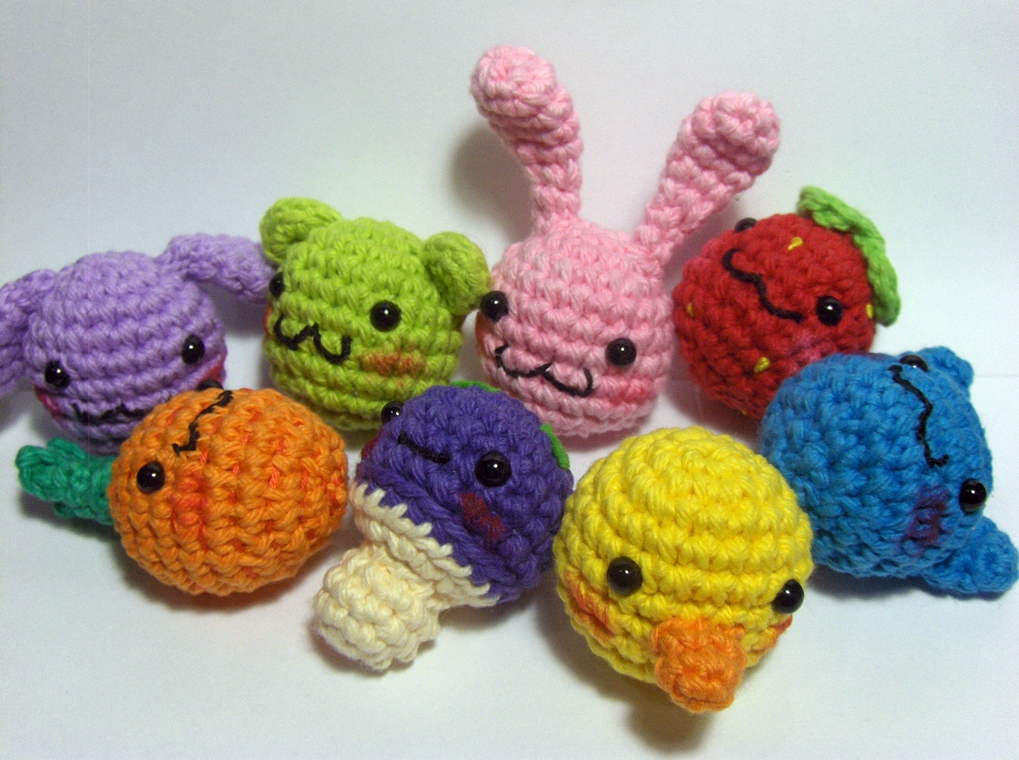 Amigurumi Orange Free Pattern : Nerdigurumi - Free Amigurumi Crochet Patterns with love ...