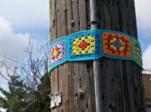 Telephone Poles Want to be Pretty Too!