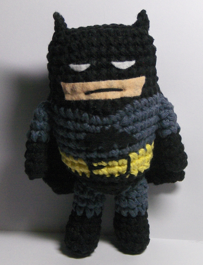 Free Amigurumi Batman Pattern : Nerdigurumi - Free Amigurumi Crochet Patterns with love ...