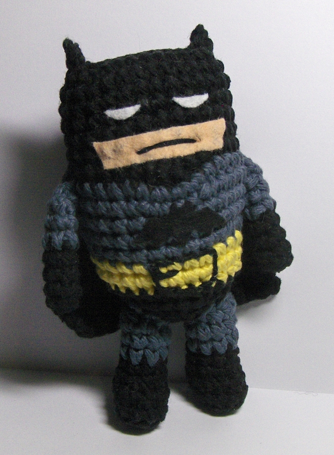 CROCHET SUPERHERO TUTORIAL : Batman - Part One - YouTube | 900x661